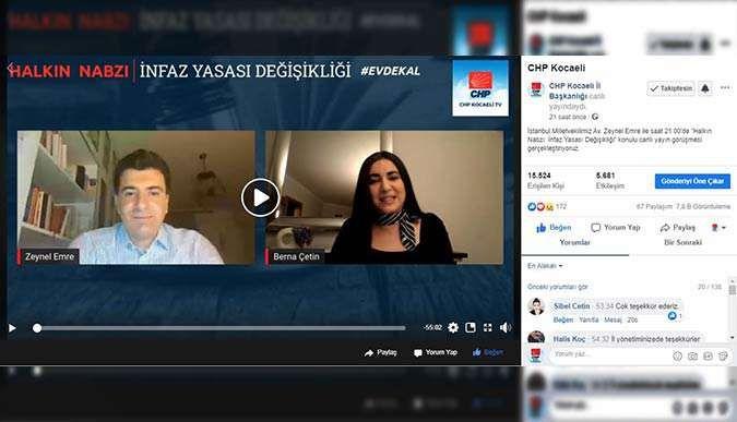 CHP Kocaeli'nde infaz yasası konuşuldu