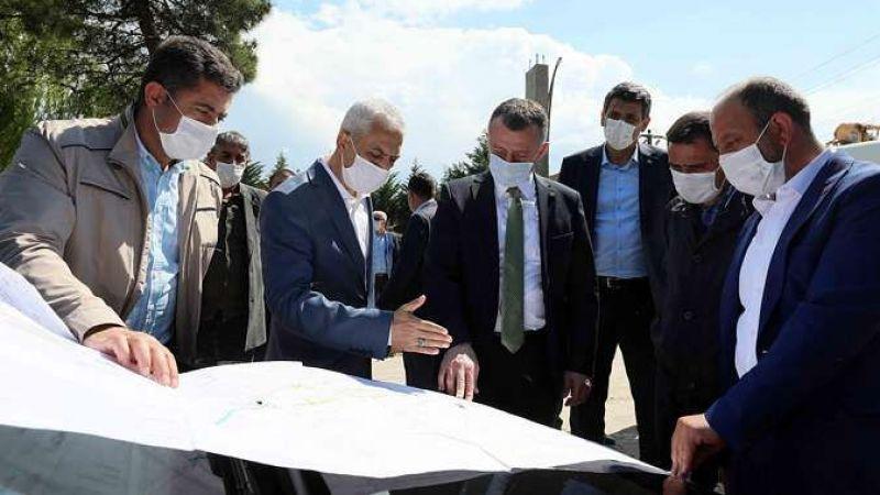 'Köseköy'de altyapı çalışmaları 15 haziran'da bitiyor'