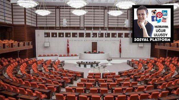 Meclis yeniden açıldı Ellibeş başarılar diledi