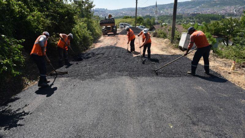 Karadenizliler Mahallesi'ne yepyeni asfalt yol