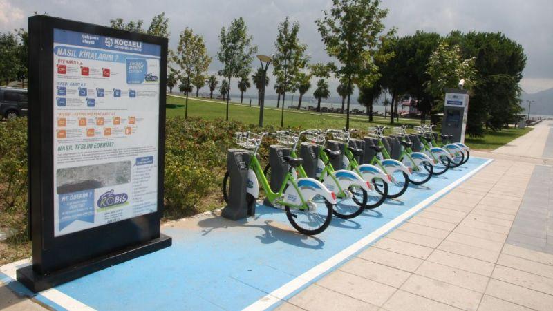 2 ayda 52 bin bisiklet kiralandı
