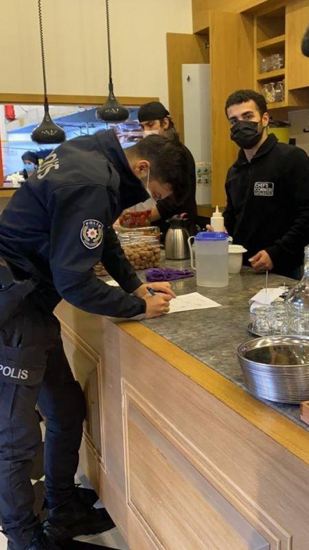 Maske takmayan 190 kişiye ceza kesildi!