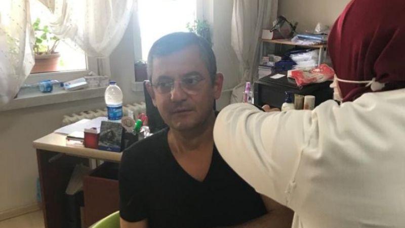 CHP'de ilk aşıyı Özel oldu