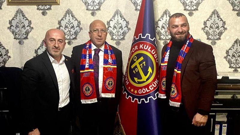 Kocaelispor'dan Harb iş Spor lokaline ziyaret