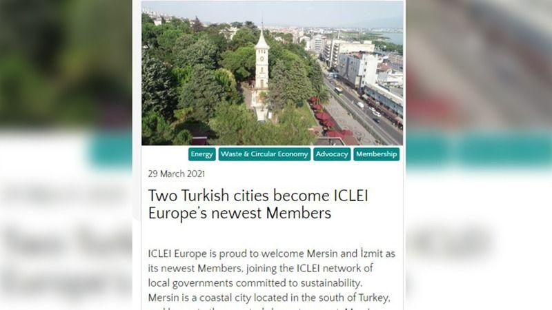 İCLEİ, İzmit Belediyesinin başarısını dünyaya duyurdu