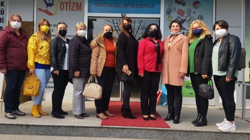 İYİ Parti İzmit'ten Otizm farkındalık günü ziyareti