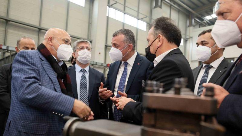 """Büyükakın; """"Ustam Projesi Türkiye'ye modeldir"""""""