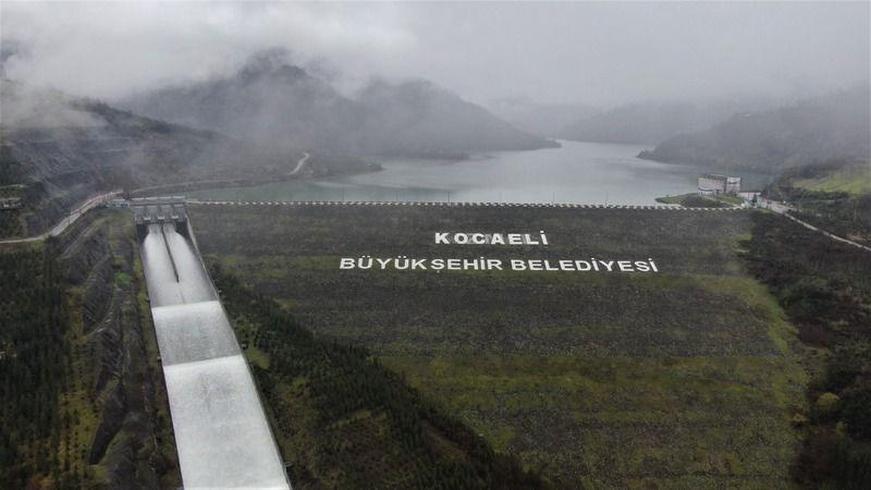 Yuvacık Barajındaki su seviyesi doldu taştı