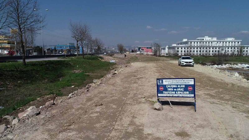 Yeni Emniyet Müdürlüğü'nün yollarını Büyükşehir yapıyor