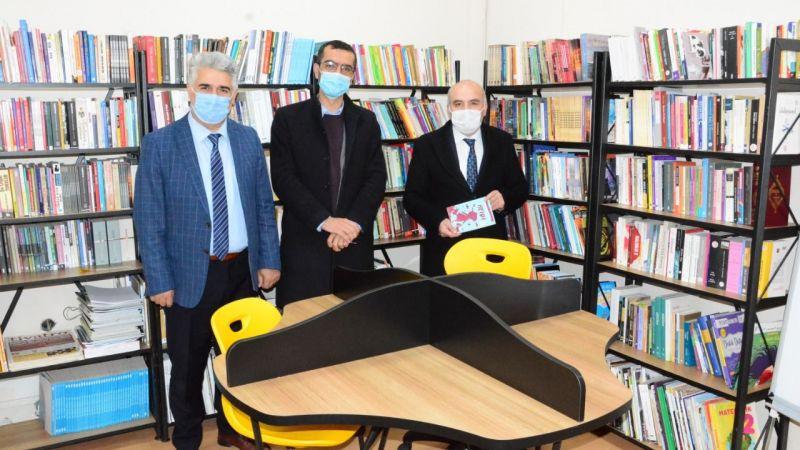 Fatih Taşdelen'den kütüphane ziyaretleri