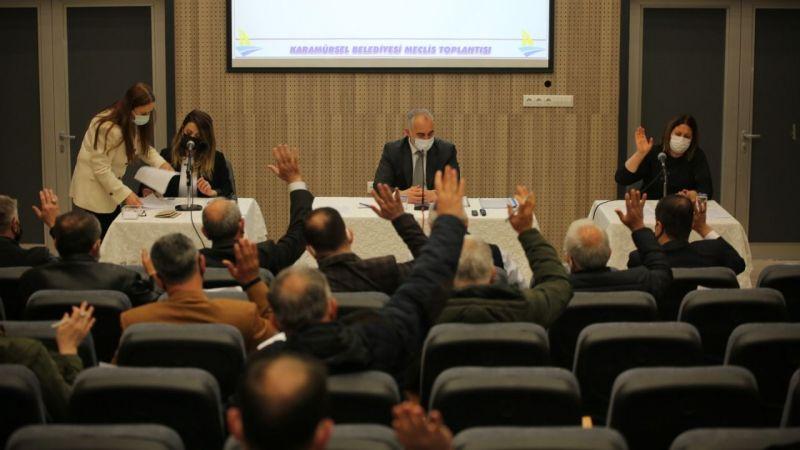 Karamürsel'de Nisan Ayı Meclisi toplantısı yapıldı