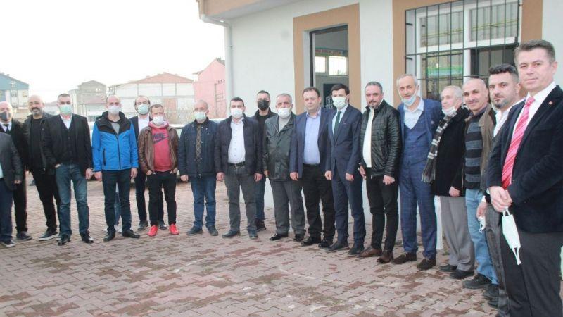 Taşköprü Birlikspor'da Önder Tokuç başkan oldu