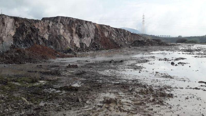 İlimtepe'ye bırakılan kimyasal atıklar temizlendi