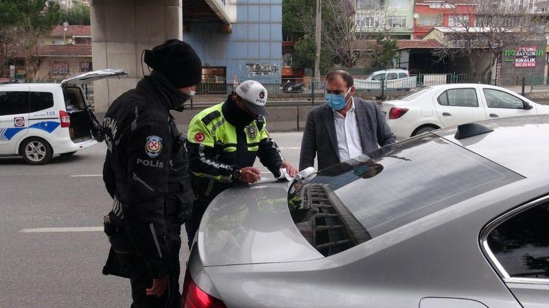 Cam filmi ile yakalanan sürücünün savunması pes dedirtti