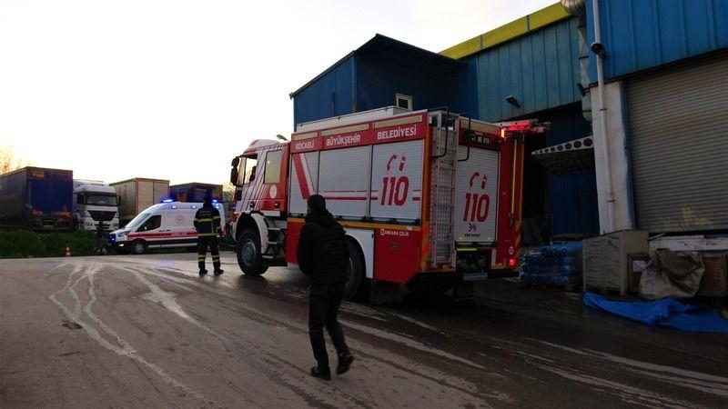 Fabrika fırınının patlaması paniğe sebep oldu
