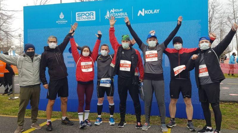 Sportif Kandıralılar, İstanbul yarı maratonunda