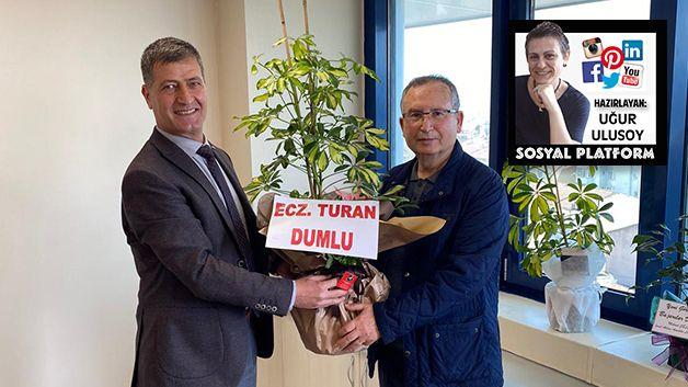 CHP'li Turan Dumlu'dan Emirşah Torun'a ziyaret