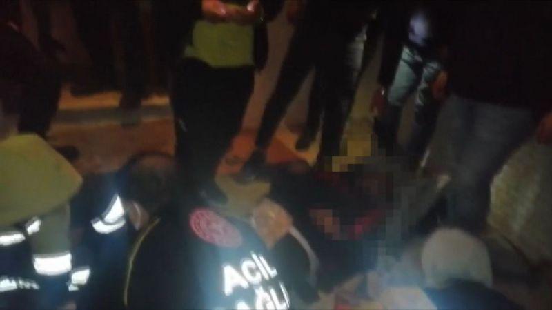 Kumar baskınında pencereden atlayan vatandaşın ayağı kırıldı