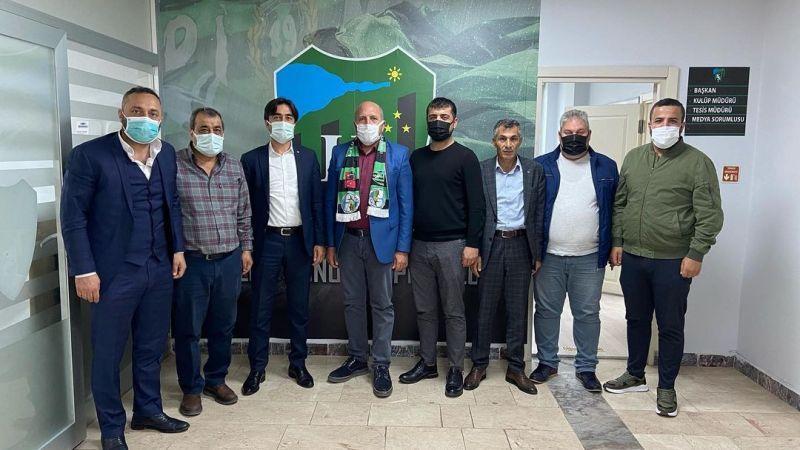 Cizrespor'dan Kocaelispor'a ziyaret