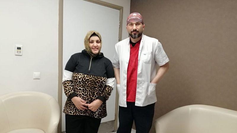 Organları doğuştan ters olan kadın iyileşti