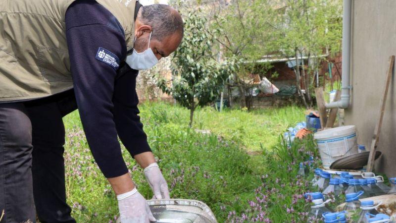 Büyükşehir'den sivrisinekle kapsamlı mücadelede