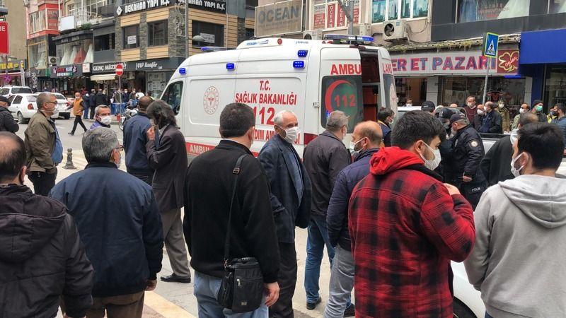 20 kişilik grup birbirine girdi: 1 yaralı, 4 gözaltı