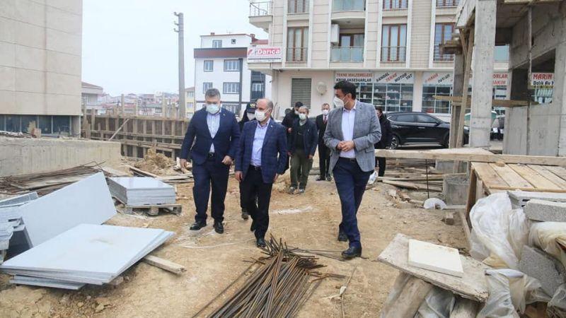 Emniyet Genel Müdürü yeni binaları inceledi