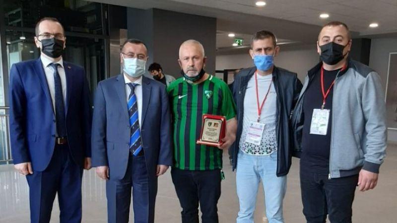 Korkmaz ve Gündüz Kocaelispor'u kutladı