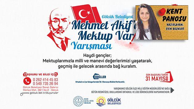 'Mehmet Akif'e Mektup Var'