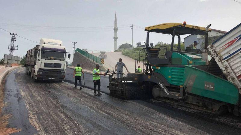 İzmit köy yolları yenileniyor