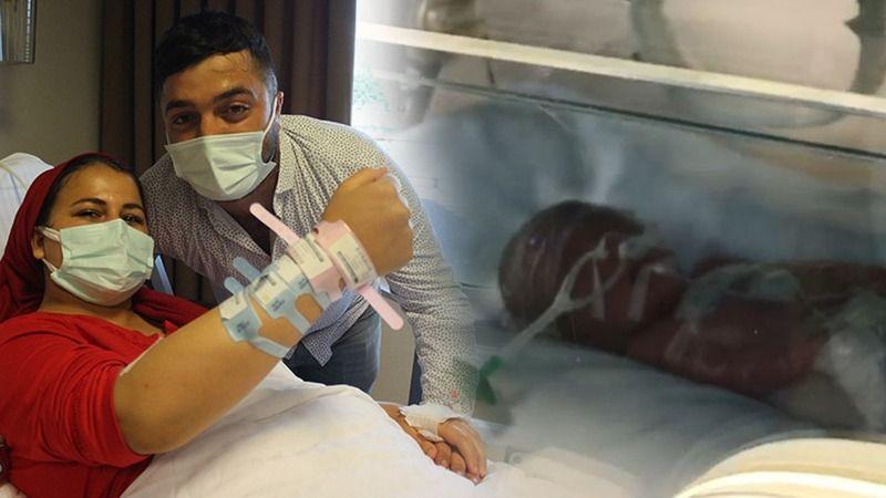 İki bebeğini kaybeden anne beşiz bebek dünyaya getirdi