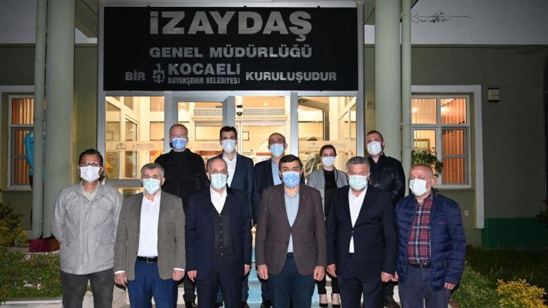 Türk-İş Genel Başkanı Ergün Atalay İZAYDAŞ çalışanları ile buluştu