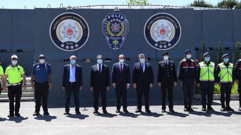 Vali Yavuz'dan kamu görevlilerine ziyaret