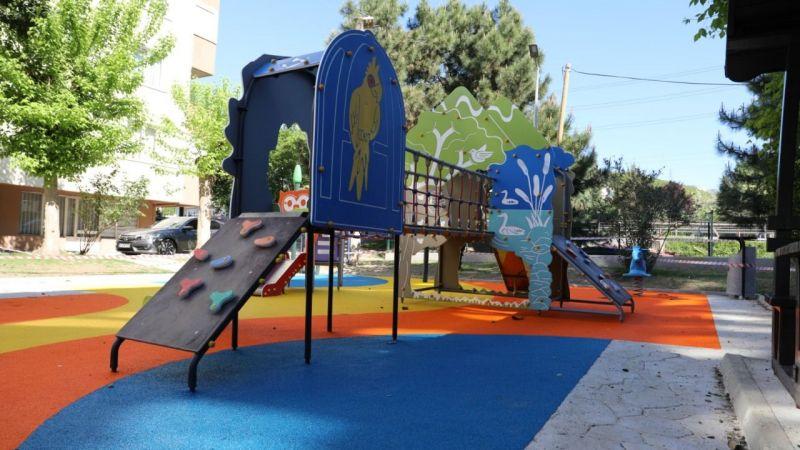 Teknik Çocuk Parkı'nda çocuk sesleri yankılanacak