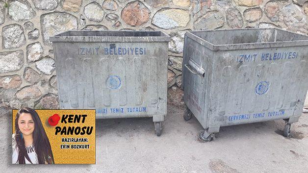 'Çöp konteynerleri kötü koku saçıyor'
