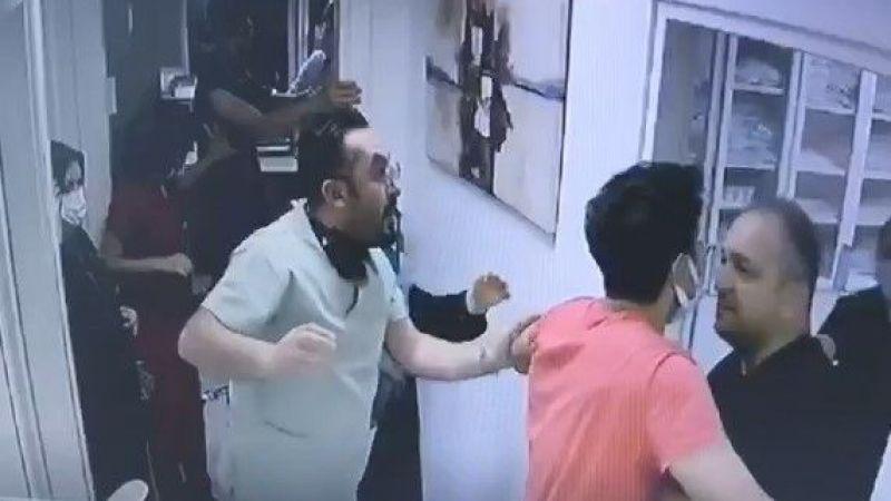Tıp merkezindeki hemşireye şiddet