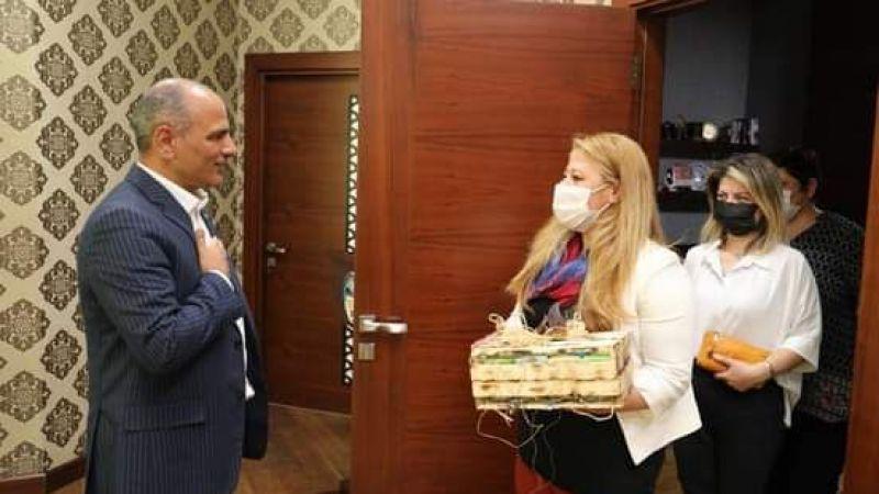 Kadının Eli Başkan Söğüt ile buluştu