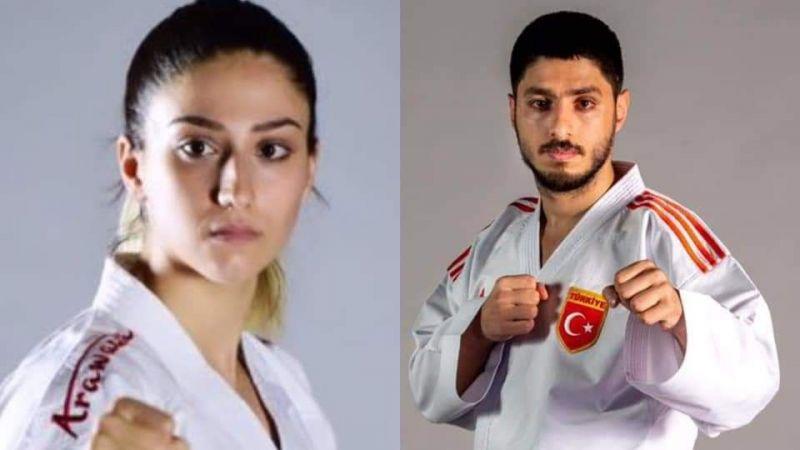 Gölcüklü Milli sporcularımız Karate Şampiyonası'nda