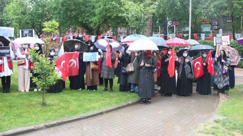 YRP'li Kadınlar Filistin için toplandı
