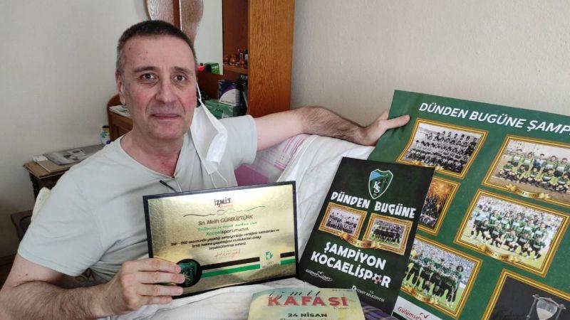 Kocaelispor'un unutulmaz ismine hediye verildi