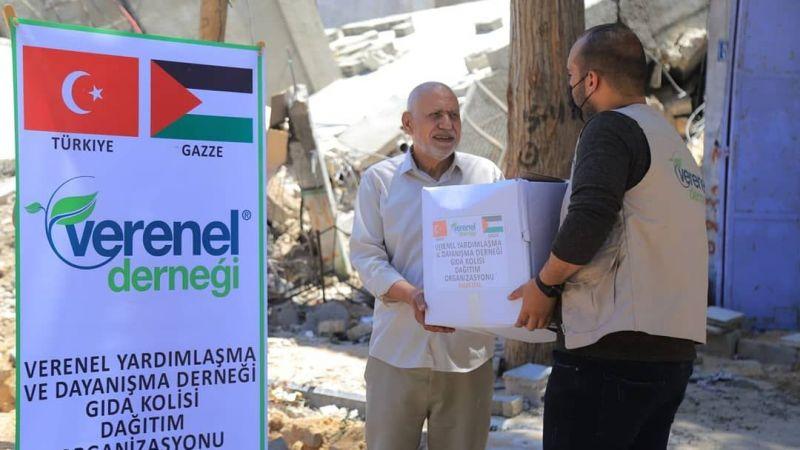 Verenel Derneği, Filistin için seferber oldu