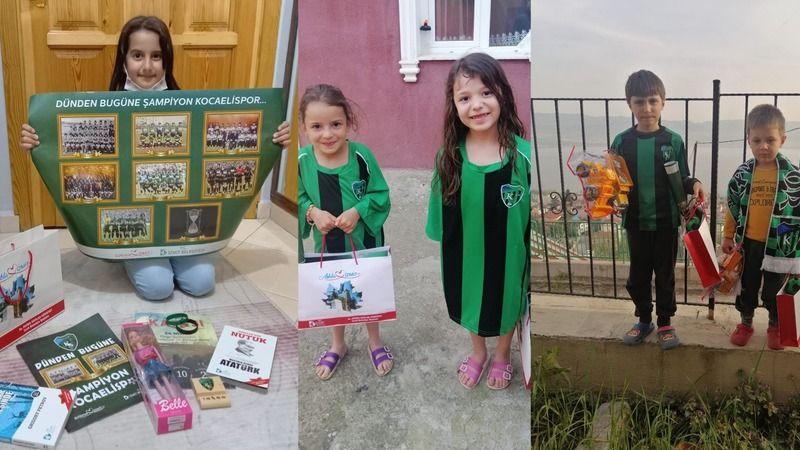 İzmit Belediyesi, Kocaelisporlu yüzlerce çocuğu mutlu etti