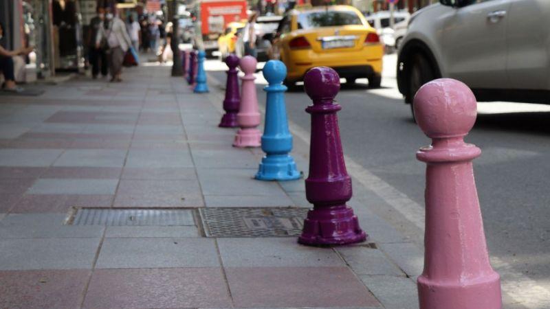 İnönü Caddesi rengarenk oluyor