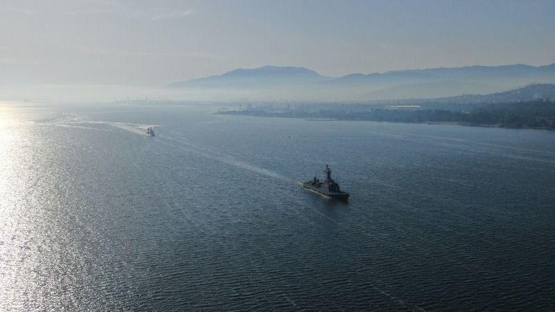 Deniz tatbikatı başladı: Savaş gemileri denize açıldı