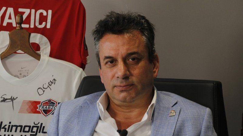 Hekimoğlu Trabzon'un başkanı hakeme yüklendi