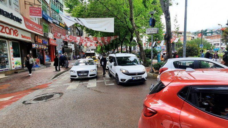 Vatandaşlar 'trafikte' sıkıldı
