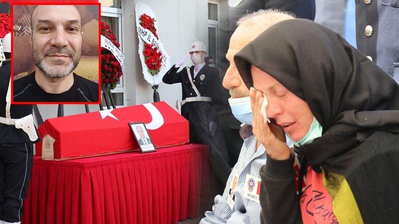 Şehit polis memuru için Yalova'da tören düzenlendi