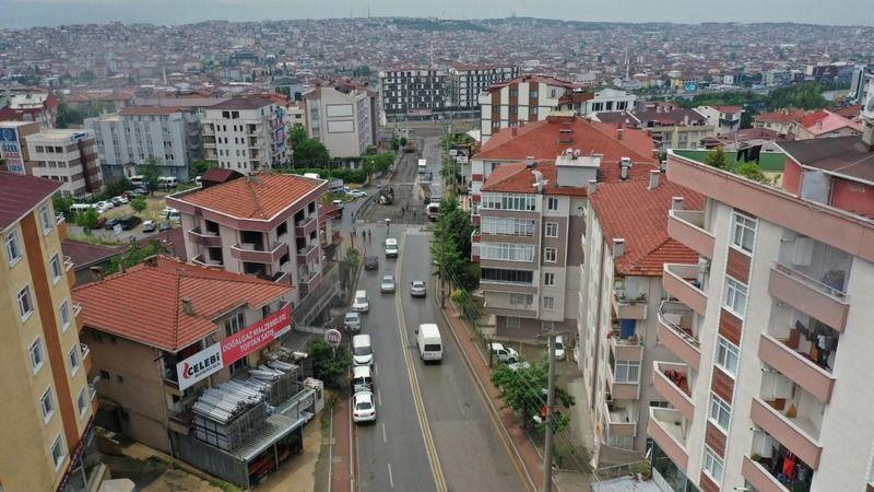 Mehmet Akif Ersoy Caddesi'nde konfor arttırıldı