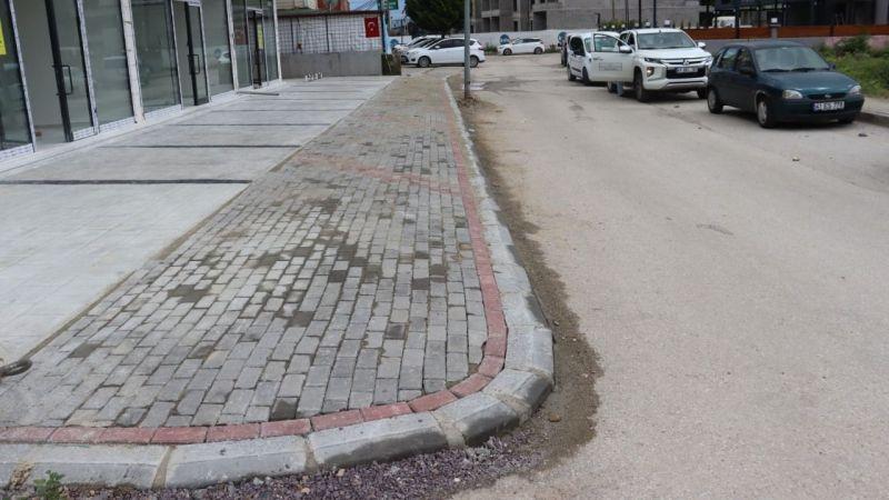İzmit Belediyesi, Alikahya sokaklarında parke yeniledi