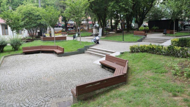 Yeni Cuma Parkı yenileniyor